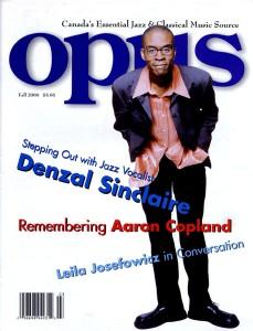 Denzal Opus Cover